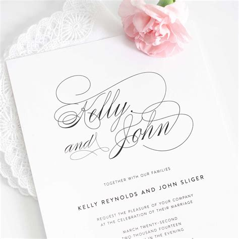 Wedding Invitations by Wedding Invitations Modern Wedding Invitations Wedding