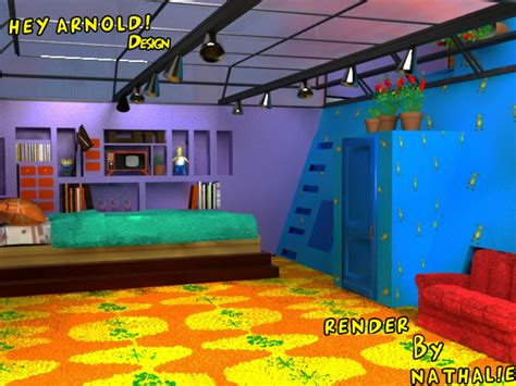 hey arnold bedroom arnold s room by cricrikenina21 on deviantart