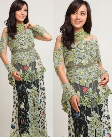 Baju Batik Kebaya Wanita Pakaian Batik Delia Maroon Baru 2 model kebaya modern untuk remaja model kebaya