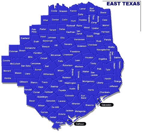 map of east texas real estate appraisers in texas appraisersdotcom