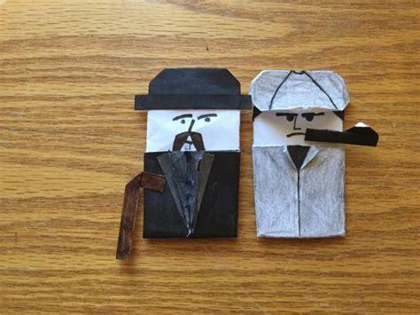 Sherlock Origami - sherlock club origami yoda
