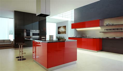 red and black kitchen ideas kitchen inspiration