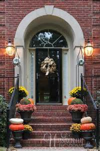 Fall porch decor with plants and pumpkins unskinny boppy