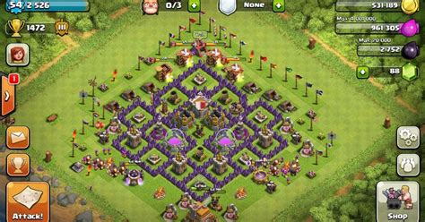 clash of clans defense town hall level 7 clash of clans town hall level 7 defense