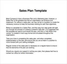 Sales Business Plan Template by Sle Sales Plan Template 17 Free Documents In Pdf