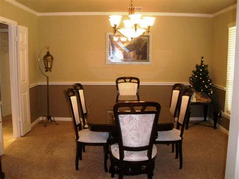 color schemes for dining rooms pics for gt dining room color schemes chair rail