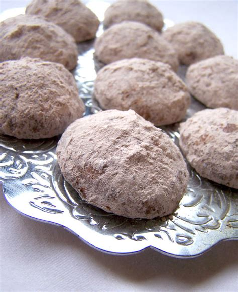 mexican wedding cookies without nuts chocolate filled mexican wedding cookies recipe back to