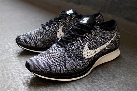 Sepatu Nike Fleknit Racer Cowok nike flyknit racer oreo 2 0 2017 rerelease sneaker freaker