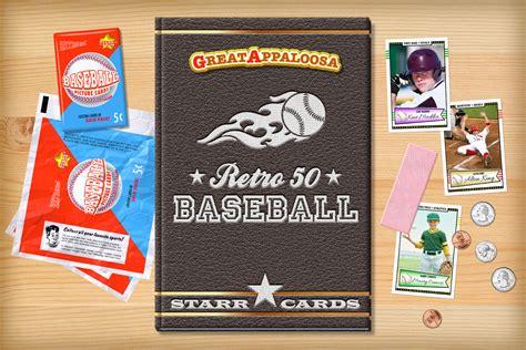 make a baseball card custom baseball cards retro 50 series cards