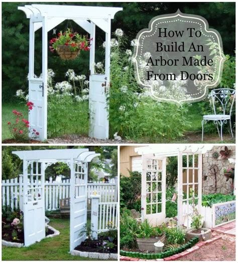 Garden Arbor Made From Doors 17 Best Images About Outdoors On Gardens Diy
