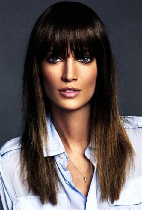 haircuts blunt bangs 17 fashionable hairstyles with pretty fringe for 2015