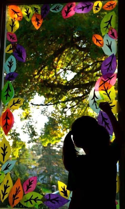 Herbstdeko Fenster Kita by Herbstdeko Kita Drachen Basteln Mit Kindern Anleitung Zum