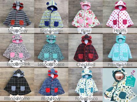 Jaket Baju Keren Motif Bayi Balita Baby Newborn 1 12 Bulan cuddleme baby cape mantel jaket anak bayi balita bolak balik grosir retail clodi