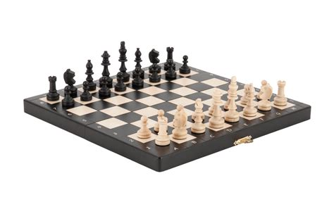 magnetic chess the black magnetic chess set ebay