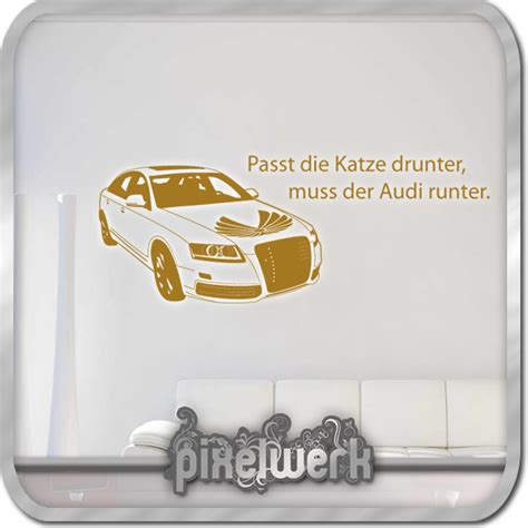 Auto Tuning Zitate by Wandtattoo Quot Audi 02 Quot Spa 223 Lustig Spruch Zitat Auto
