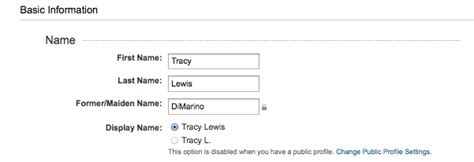 Search For By Maiden Names My Journey Into Married Changing My Name On Social Profiles
