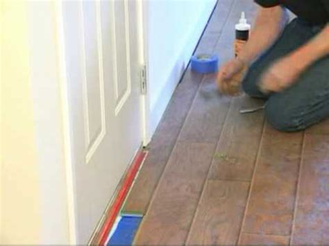 How To Install Laminate Flooring, Laying your Floor, an