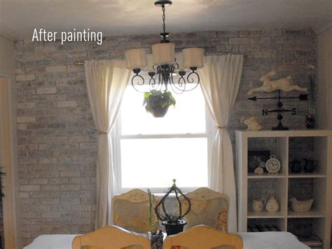 Painting Interior Brick by Painting Bricks Is Easy The Creative