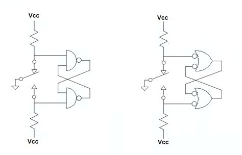 draw logic gates negative logic and positive logic gates electrical