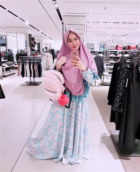Tunik Polka Kecil Maron 18 model baju muslim remaja 2018 terbaru stylish casual dan modis