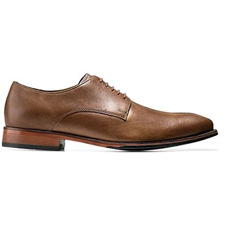 camel oxford shoes cole haan mens williams plain ii oxford camel dress shoes
