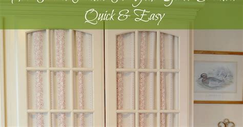covering glass cabinet doors with fabric how to cover glass cabinet doors with fabric exquisitely