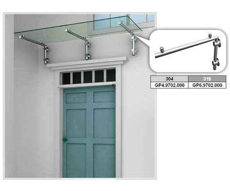 Glass Awning System by Glass Canopy System 2favoriteinox