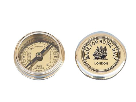 the brass compass buy solid brass navy pocket compass 3 inch nautical
