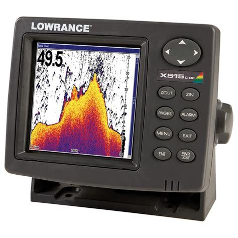 lowrance 174 x515c df fishfinder 123269 fish finders at
