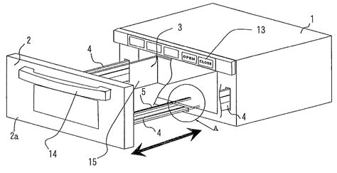 schublade zeichnung patent us8357886 drawer type cooking device patents