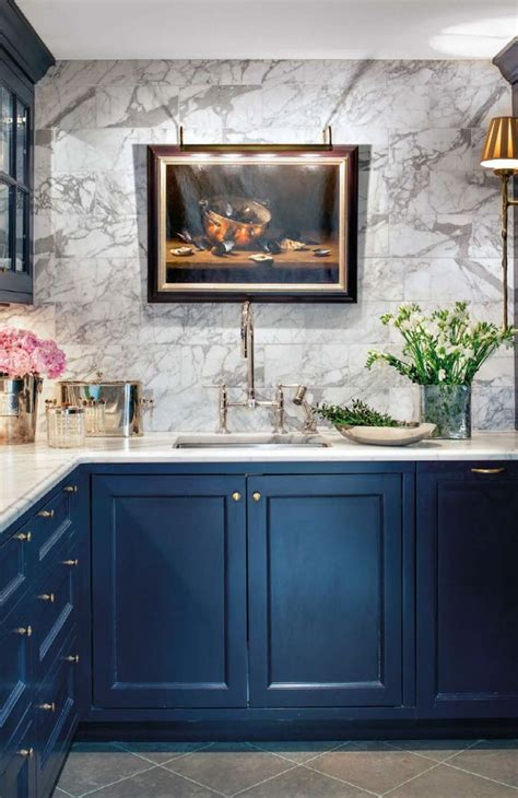 painted blue kitchen cabinets 17 best ideas about blue kitchen cabinets on pinterest