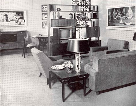 50 S Style Home Decor by House Furniture 1930s To 1950s