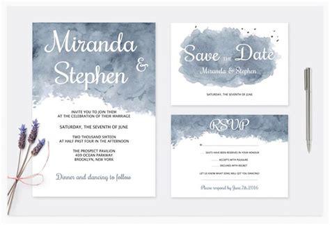 14 Modern Wedding Invite Templates For 2017 Envato Bridesmaid Information Template