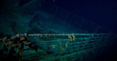 imagenes verdaderas del titanic hundido history
