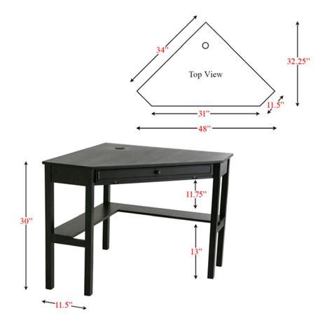 modern desks alexander black corner desk eurway
