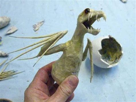 How To Make Vire Teeth Out Of Paper - new paper mache baby paperblog
