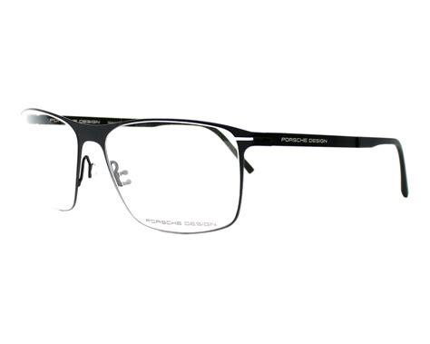 porsche design glass frame porsche design eyeglasses p 8256 e black visionet