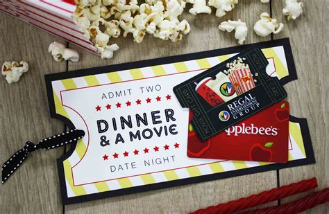 Movie Tickets Gift Cards - 20 ways to make your own gift card holders gcg