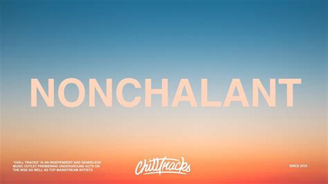6lack nonchalant 6lack nonchalant lyrics youtube