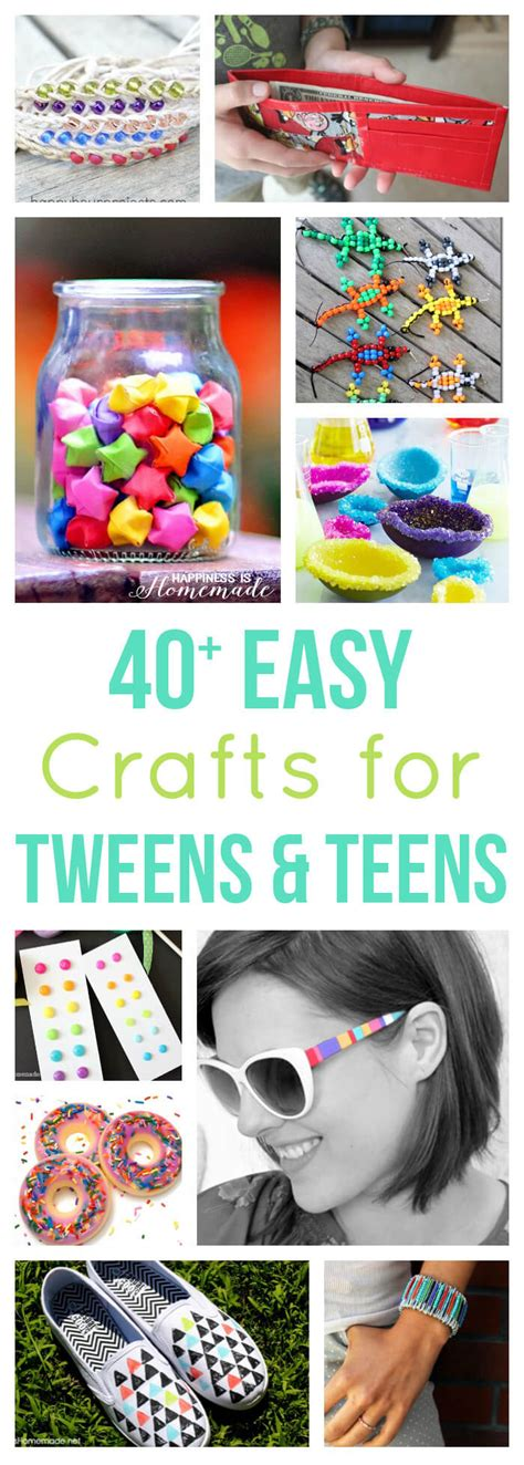and easy crafts for 40 easy crafts for tweens happiness is