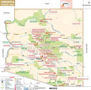 maps update 800796 arizona tourist attractions map