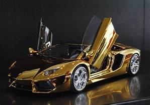 Solid Gold Lamborghini 18 Images Eccentricities Billionaires In Dubai Fress