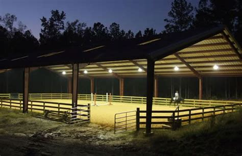 outdoor horse arena lighting 9 best round pen ideas images on pinterest