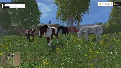 horses v 1 0 for fs 15 farming simulator 2015 15 mod