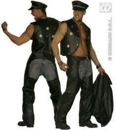 ymca village people characters fancy dress cop costume