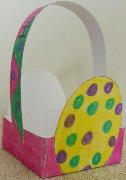 easter basket craft gitmo nation update easter easter kids crafts and