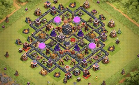 layout coc th9 anti giant 15 anti 3 star th7 to th11 farming war base layouts for