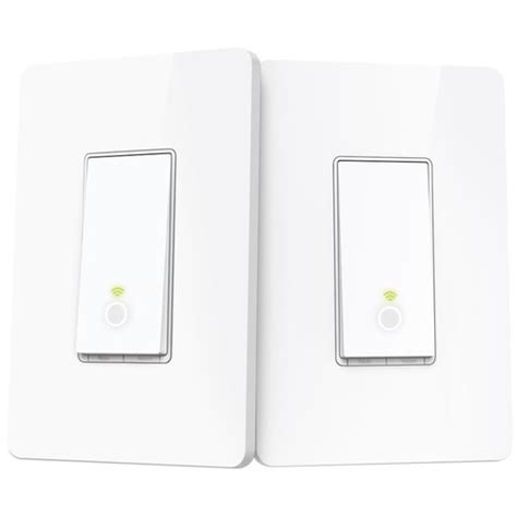 tp link smart wi fi light switch tp link hs210 smart wi fi light switches 3 way kit hs210 kit