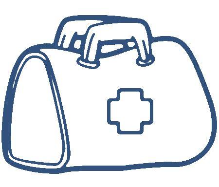 Dokter Emergency Bag bag clipart