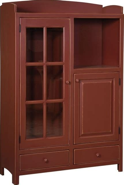 Farmhouse Pantry Cabinet by Chelsea Home Samuel Pottery Pantry Pantry Cabinets Houzz